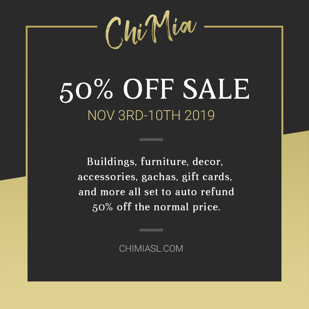 ChiMia Autumn Sale 2019