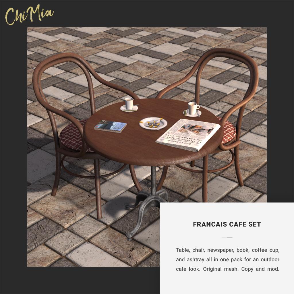 Francais Cafe Set