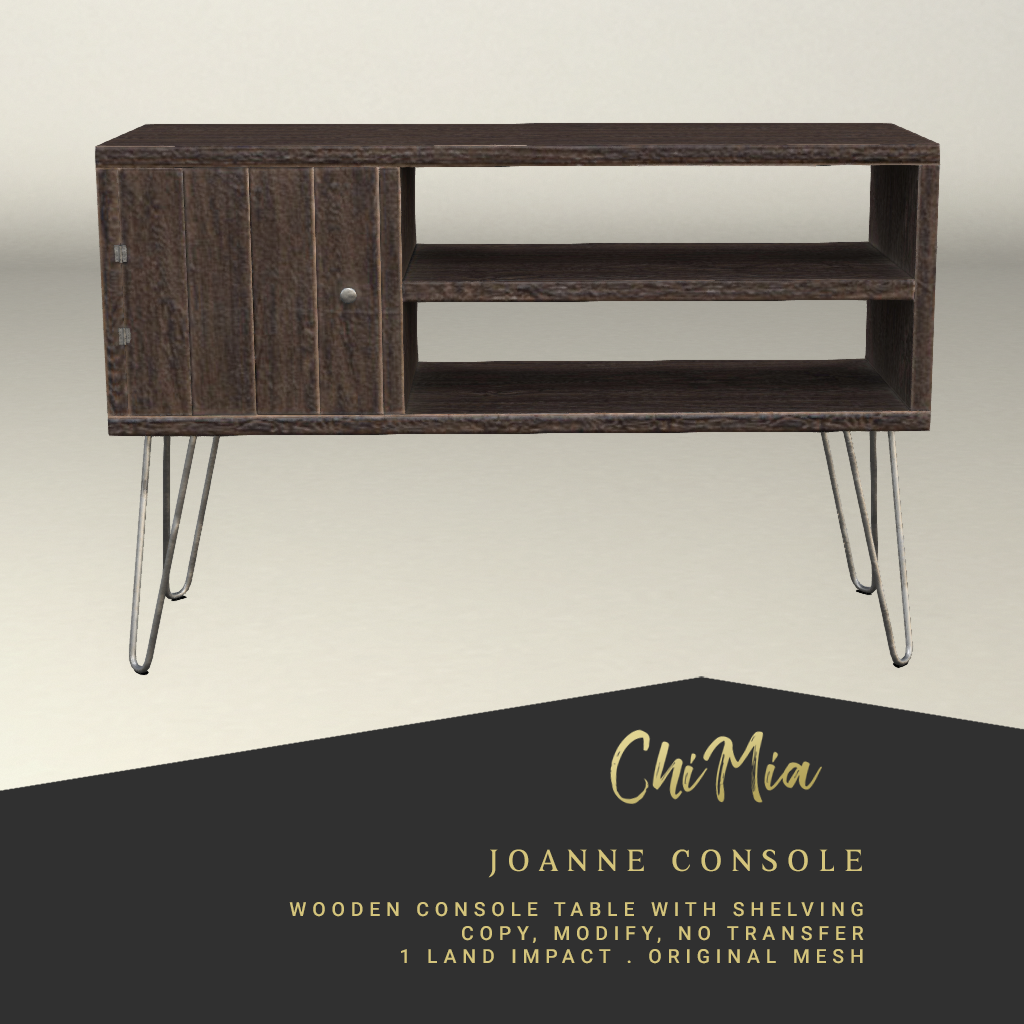 Joanne Console - brown
