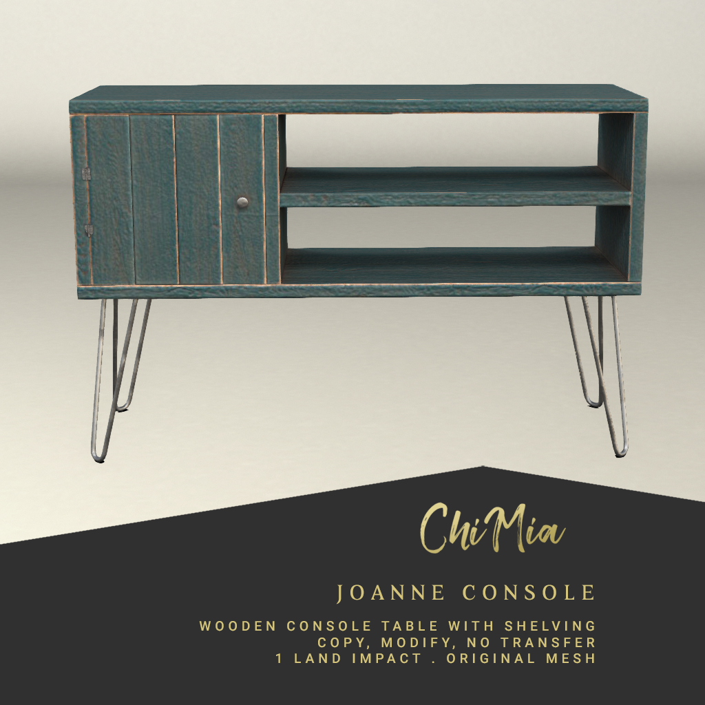 Joanne Console - teal