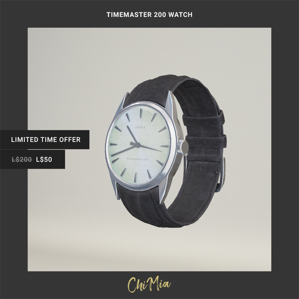 Timemaster 200 Watch on sale 22 June 2019 for only L$50