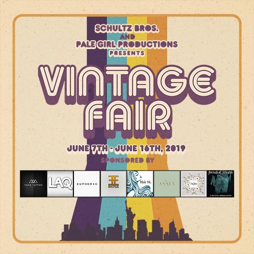 Vintage Fair 2019 Poster