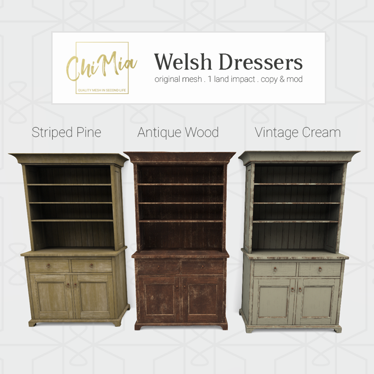 Welsh Dressers Fatpack
